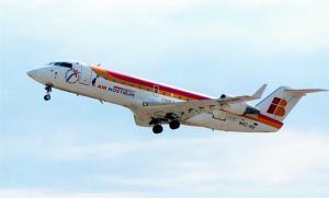 Un avión de Air Nostrum.