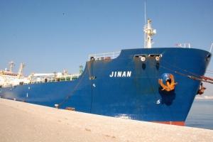 El buque tiene 175 metros de eslora.