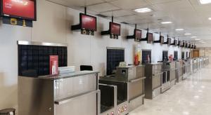 Mostradores de facturación del aeropuerto granadino.