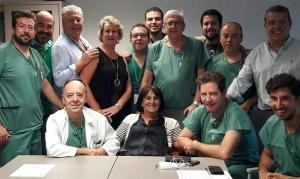 Personal de Urología del hospital San Cecilio del PTS.