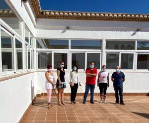 Visita al albergue rural de Villanueva Mesía