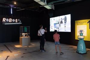 Exposición 'Robots 2.0', uno de los atractivos del museo científico.