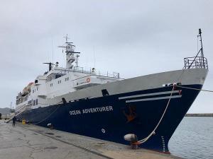 Imagen de archivo del crucero Ocean Adventurer en el puerto motrileño.
