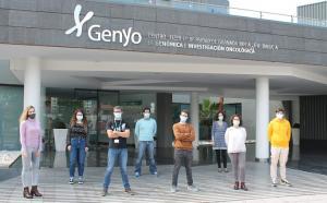 Equipo de investigación en el centro Genyo del PTS.
