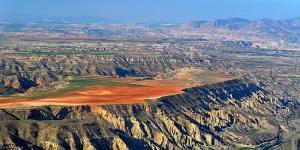 Espectacular vista del Geoparque.