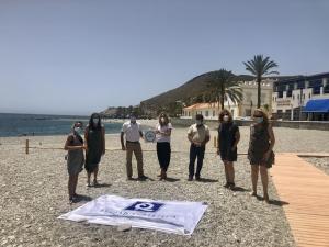 Las playas de Gualchos-Castell de Ferro obtienen el certificado Turismo Seguro.