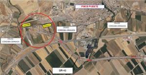 Localización de las obras y afecciones al tráfico.