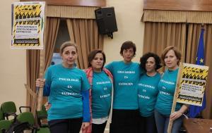 Miembros del colectivo de Educadoras y Psicólogas en Precariedad.