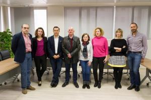 Los investigadores de la UGR que participan en este proyecto.