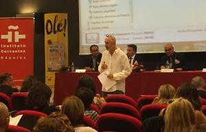 Presentación del proyecto 'Universo Lorca' en Nápoles.