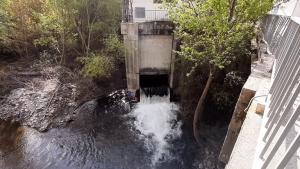 Central hidroeléctrica Nuevo Castillo, en el río Genil.