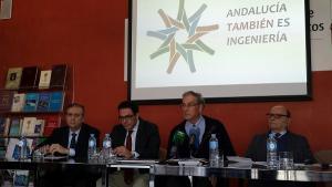 De izquierda a derecha, Juan José Nievas, Juan José Granados, Fernando Yllescas y Enrique Alcaraz.
