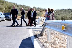 Visita a unas de las carreteras que ya se han reformado, entre Montejícar y Dehesas Viejas.