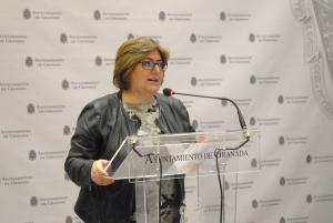 La concejala Ana Muñoz.