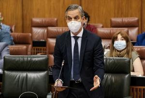 Juan Bravo, durante la sesión plenaria.