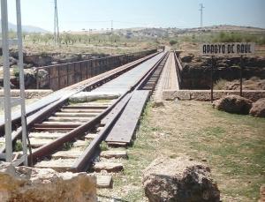 Antigua línea ferroviaria Guadix-Baza-Almanzora.