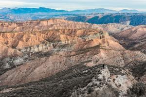 Imagen del desierto de Los Coloraos, en Gorafe.