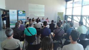 Una de las sesiones informativas a municipios.