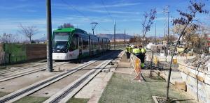 El Metro se restablece este lunes entre Albolote y Maracena.