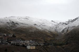 Una de las últimas nevadas en Sierra Nevada.