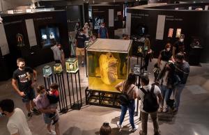 Pabellón del Cuerpo Humano del museo científico.