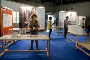 Un aspecto de la nueva muestra en el museo científico.