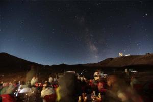 La observación de las Perseidas es una de las actividades en Sierra Nevada.