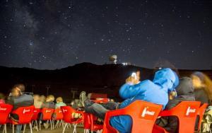 Una de las observaciones en Sierra Nevada en ediciones pasadas.