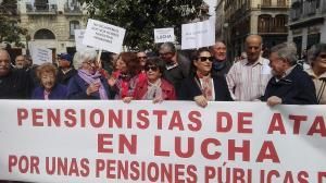 La Plataforma de Pensionistas se movilizará de nuevo el 5 de mayo.