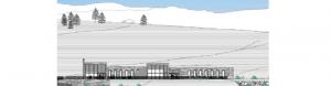 Imagen extraída de los planos del Centro de Visitantes del Parque Nacional de Sierra Nevada.