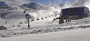 Imagen de esta temporada de la estación de esquí de Sierra Nevada.