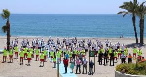 Equipo de vigilantes y socorristas de las playas sexitanas.