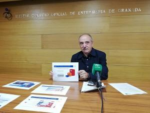 Jacinto Escobar, presidente del Colegio de Enfermería.