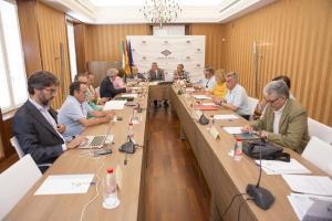 Última reunión del Consejo de Administración del Puerto de Motril.