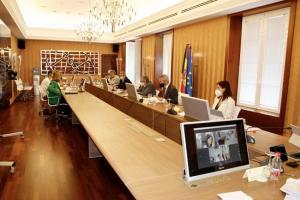Reunión del Consejo de Administración del puerto.