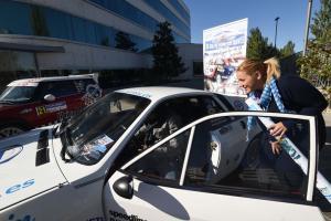 En el rallye participarán coches modernos y clásicos.