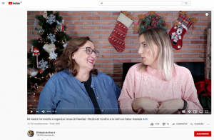 Imagen de uno de los vídeos de Youtube que promocionan productos de Sabor Granada.