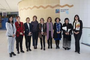 Cumbre de rectoras de las universidades públicas.