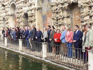 El concejal Manuel Olivares ha participado en la reunión celebrada en Sevilla.