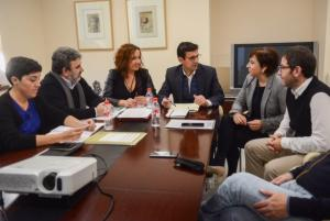 Reunión con el Ayuntamiento de Granada.