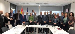 El ministro Pedro Duque ha presidido la comisión ejecutiva de la candidatura del acelerador de partículas.