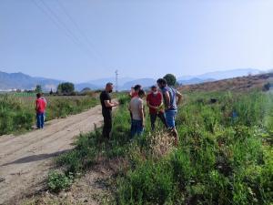 Reunión para abordar el proyecto 'Custodia de los ríos'.