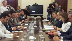 Reunión de la Comisión Seguimiento del AVE.