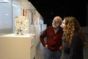 La exposición 'Robots' es uno de los atractivos del museo científico.