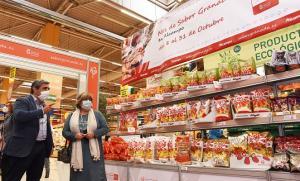 Los productos de Sabor Granada estarán en el centro comercial hasta el 31 de octubre.