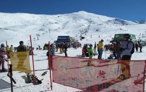 Sierra Nevada ha sido un gran motor turístico de la provincia en el inicio del año.