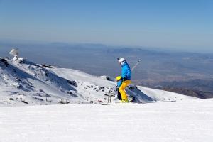 Espectacular imagen de la estación de esquí.