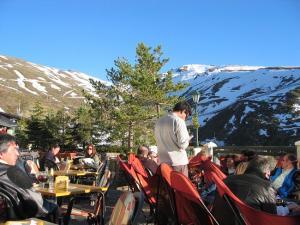 Imagen de archivo de una terraza en Sierra Nevada.