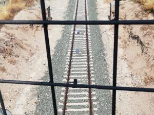 Vías del tren.