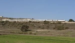 Tren de media distancia de Renfe.